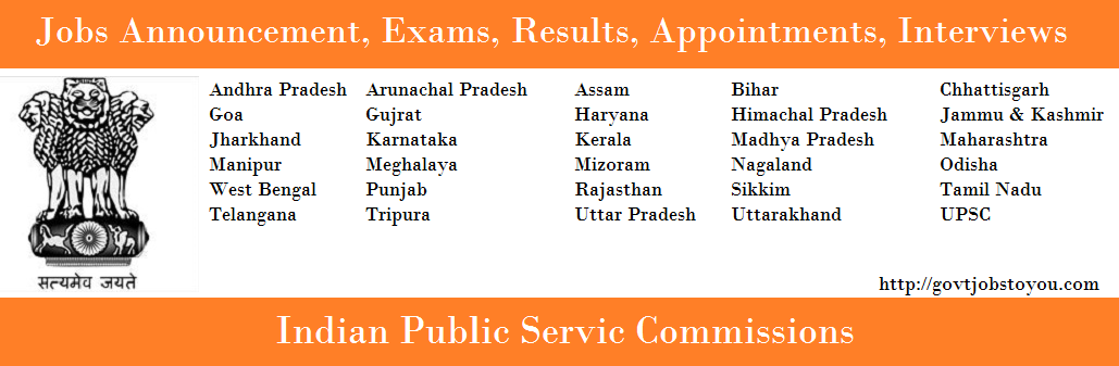 Indian Public Service Commissions