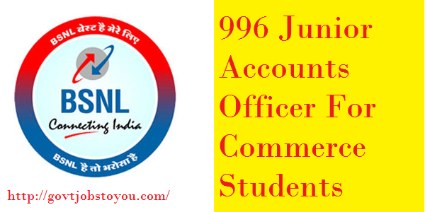 996 Junior Accounts Officer Vacancies