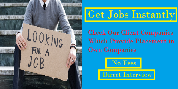 Free Job Placement - Direct Interview - Placement Cell