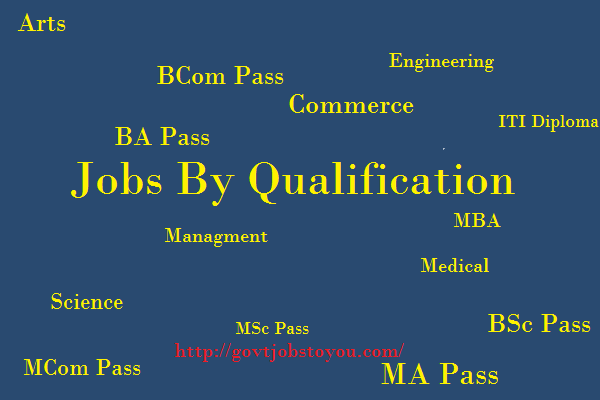 Jobs By Qualification Vacancies According Education Rescuitment