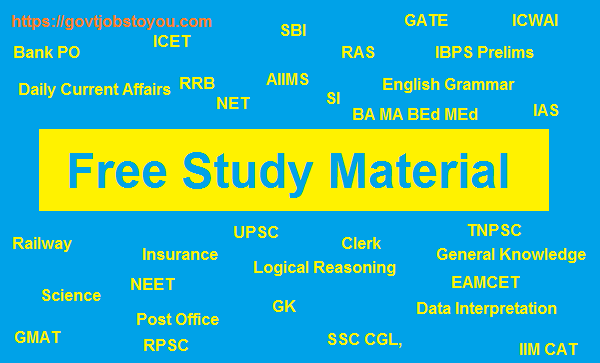 Online Free Study Material