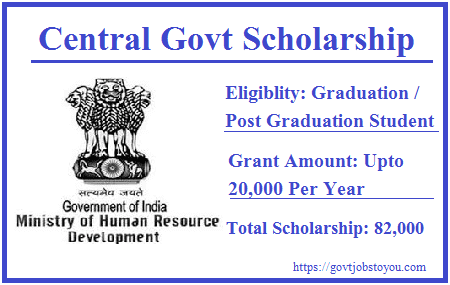 Central Sector Scheme of Scholarship for College and University Students 2018